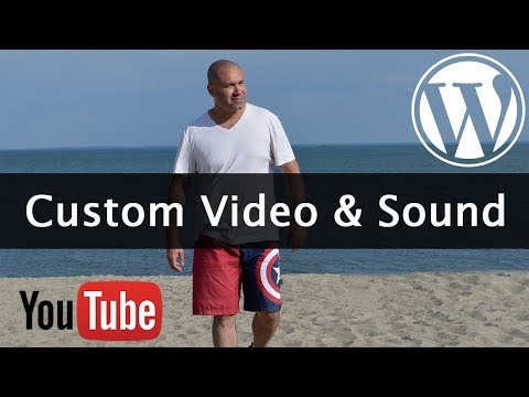 How To Add a Custom YouTube Video Header in WordPress with Sound - Learn WordPress Theme Development