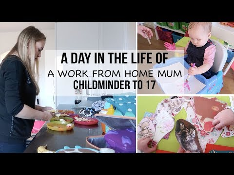A DAY IN THE LIFE OF A WORK FROM HOME MUM - GETTING READY FOR MOTHERS DAY - A CHILDMINDING MUMMY