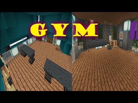 How to make GYM equipment | Minecraft pocket edition | ✓