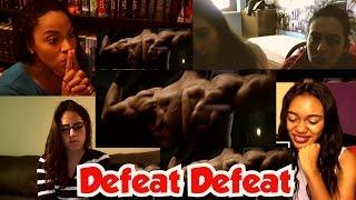 Girls Reactions: Defeat Defeat Brand Film | HRX | Hrithik Roshan
