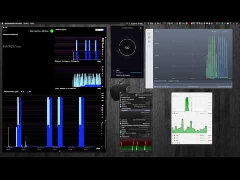 TEST apps network bandwidth monitoring for Mac - SNMP