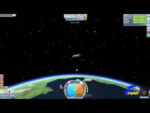 Kerbal Space Program Tutorial 2 - Orbit with Prograde SAS Tutorial