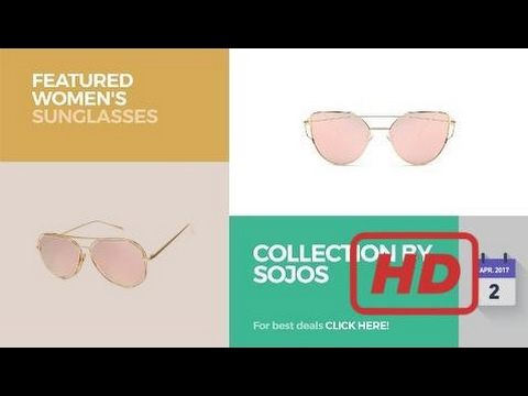 Sale 2017 Collection By Sojos Featured Women's Sunglasses