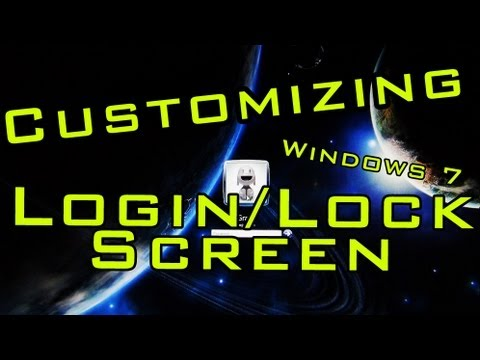 How to Change Windows 7 Login/Lock Screen Background