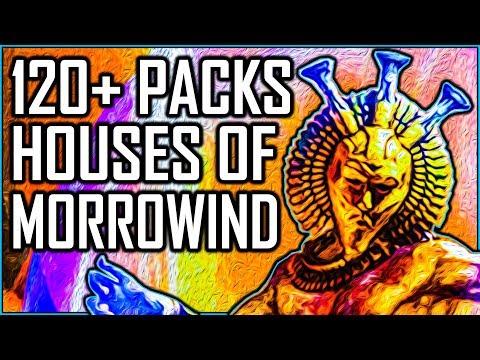 HOUSES OF MORROWIND - Opening 120+ Packs - Elder Scrolls Legends