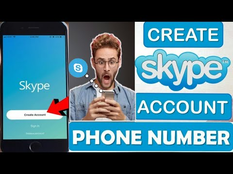 create skype account without phone number free on android in hindi
