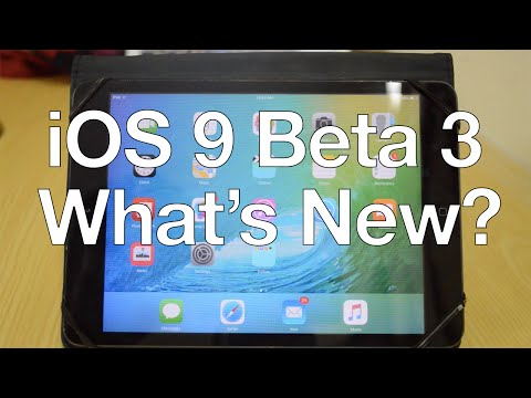 iOS 9 Beta 3: What's New?