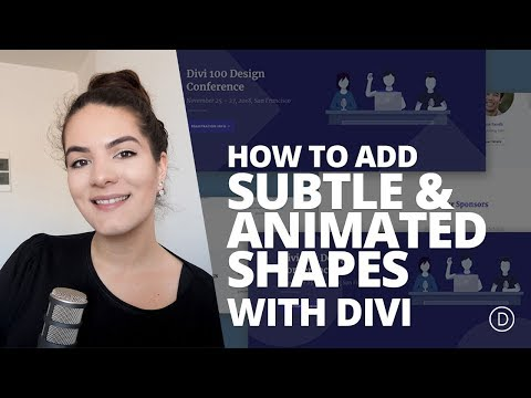 How to Add Subtle & Animated Shapes to Your Website with Divi
