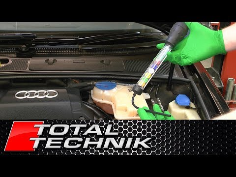 How to Use Coolant (Anti Freeze) Tester - TOTAL TECHNIK