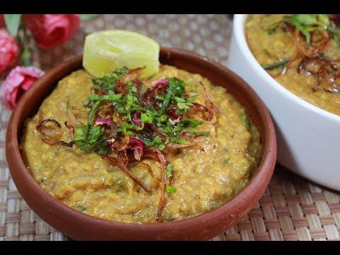শাহী হায়দ্রাবাদি চিকেন হালিম||Easy Chicken Haleem Recipe||Hyderabadi Shahi Haleem Recipe
