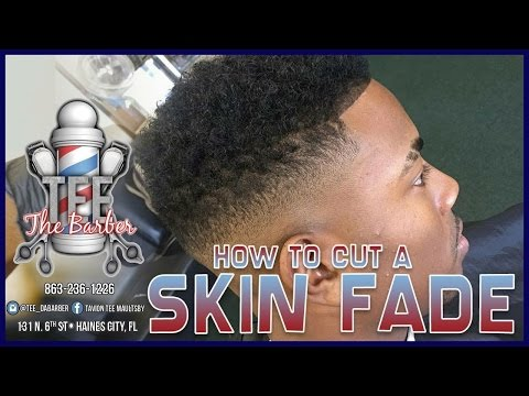 HOW TO CUT A SKIN FADE WITH HIGHTOP : THE QUINCY HAIRCUT HD