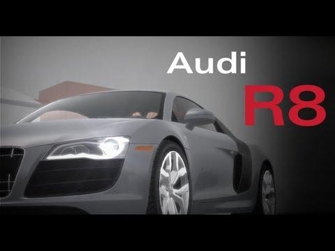 Audi R8 V10 Commercial (GTA IV) (Ryder Studio)