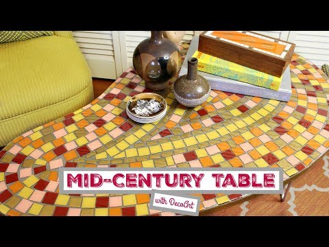 DIY Mid-Century Tile Table with Mark Montano