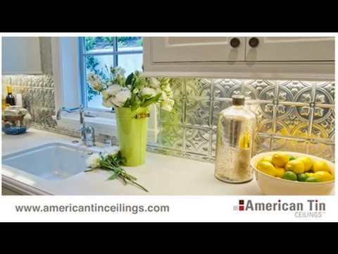 Tin Tile Backsplashes and Kitchen Renovations (1/3)