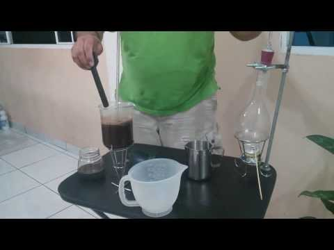 Syphon Vacuum Coffee Maker (Home made)