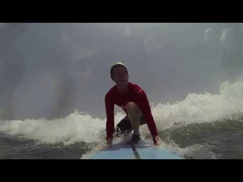 Gopro: Learning to surf on Bali
