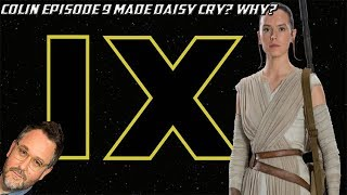 Colin Trevorrow's Star Wars 9 Pitch Made Daisy Ridley Cry