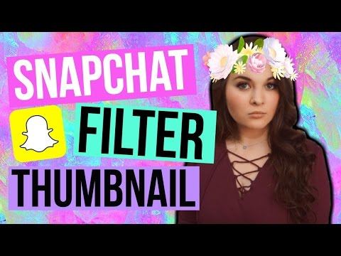 Edit Snapchat Filters on Photos - Gabrielle Marie