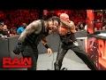 Roman Reigns Vs Luke Gallows Karl Anderson 2 on 1 Handicap Match Raw Feb 20 2017
