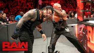 Roman Reigns vs. Luke Gallows & Karl Anderson - 2-on-1 Handicap Match: Raw, Feb. 20, 2017