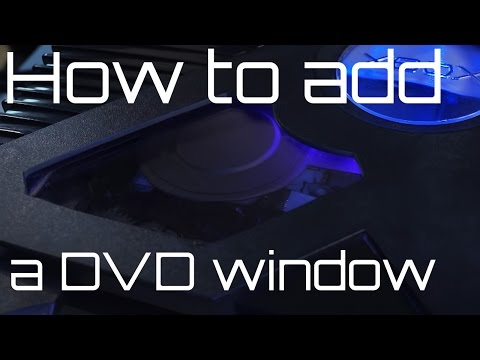 How to add a DVD Window to your original xbox