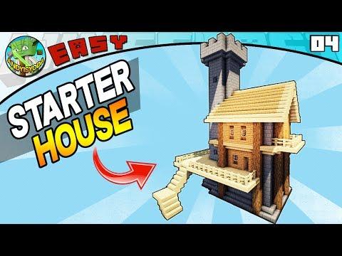 MINECRAFT STARTER HOUSE (Minecraft EASY Build 04)