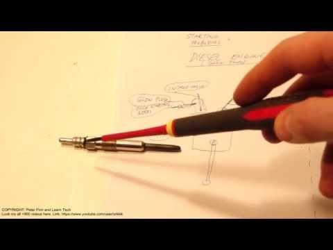 How Works Glowplug In Diesel Engine Car Truck Or Lorry
