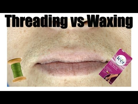 Threading VS. Waxing the UPPERLIP