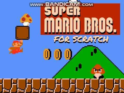 Super Mario Bros. For Scratch Gameplay