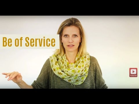 The Serenity of Service: Eliminate Your Self-Consciousness
