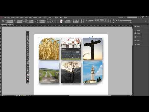 FREE InDesign Tutorial - How to add drop shadows and other effects to images