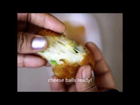 Cheese corn balls recipe | How to make corn cheese balls