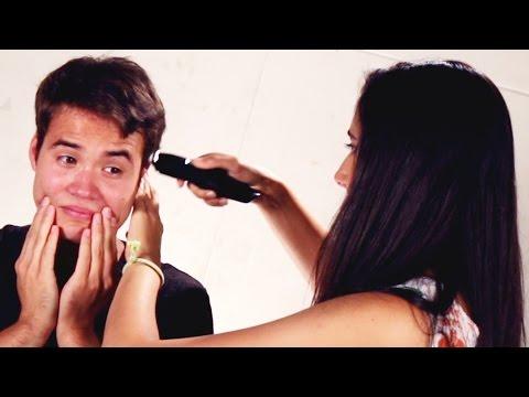 Girlfriends Cut Their Boyfriends' Hair