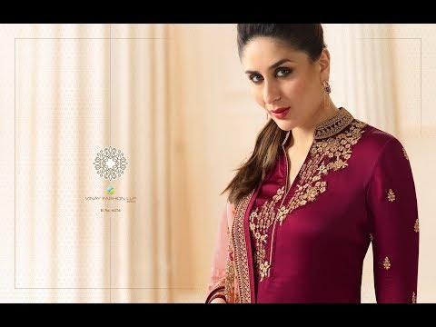 Latest Indian Dresses Collections 2017 || Vinay Fashion || Kaseesh-Kareena  3