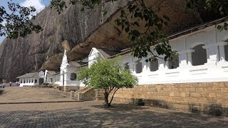 Golden Temple of Dambulla, Sri Lanka in 4K (Ultra HD)