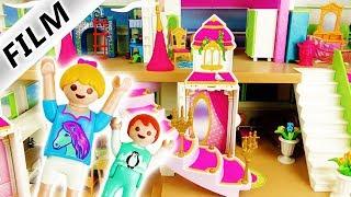 Playmobil Film deutsch | Luxusvilla wird zum PRINZESSINNEN SCHLOSS | Umbau & neue Möbel Kinderserie