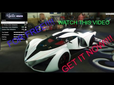 How to get Supercars for FREE in GTA V [story mode]