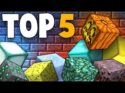 Top 5 Rarest Blocks In Minecraft