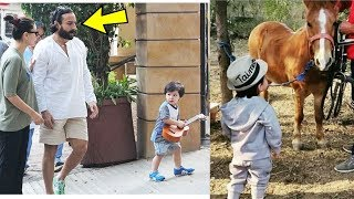 Taimur Ali Khan unseen moments in Pataudi Palace as Official Prince Nawab