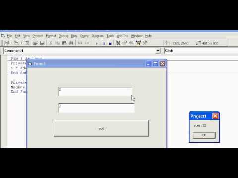 how to create user defined functions in vb6