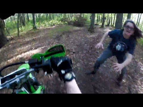 ANGRY LADY PUSHES BIKER OFF MOTORCYCLE | STUPID CRAZY & ANGRY PEOPLE vs BIKERS | Ep. #162]