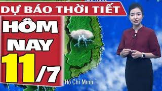 Dự báo thời tiết hôm nay mới nhất ngày 11/7/2020 | Dự báo thời tiết 3 ngày tới