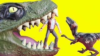Jurassic World Velociraptor Dinosaur Delta Echo And Owen The Alpha