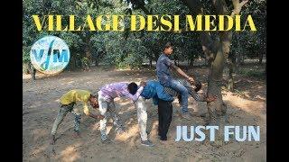 Children's comedy in village full HD video.इन लड़को ने की कमीन पन कि सारी हदें पार