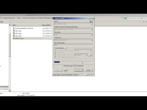 Creating bootable Acronis True Image USB Flash with Rufus
