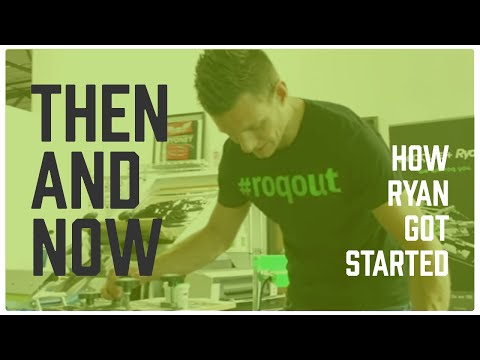Screen Printing - Then vs Now (How Ryan Got Started)