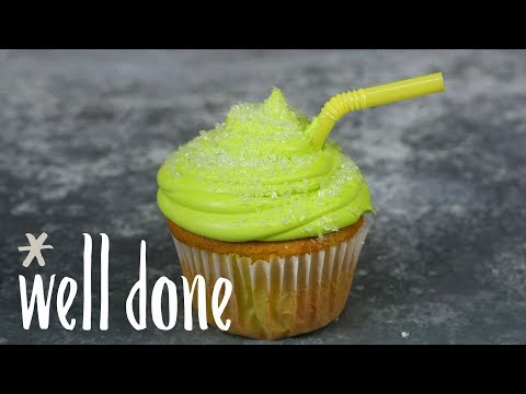How To Make Mountain Dew Cupcakes: A Fun Spin On A Box Cake Mix | Recipe | Well Done