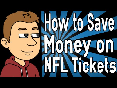 How to Save Money on NFL Tickets