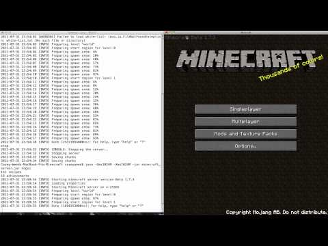 How to Setup a Minecraft 1.3.2+ (and later) Server on Mac