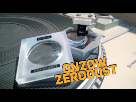Onzow Zerodust Stylus Cleaner: How to Use and Clean